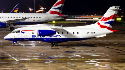 A picture of OYNCM - Dornier 328300 JET - British Airways - © Ethan Hew - p_nilly