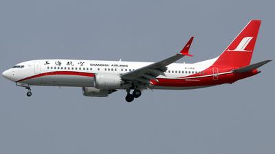 B-1259 - Boeing 737-8 MAX - Shanghai Airlines