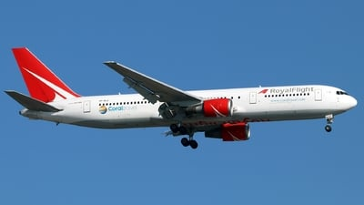 VP-BLG - Boeing 767-3Q8(ER) - Royal Flight