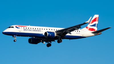 A picture of GLCYL - Embraer E190SR - British Airways - © Toby Cook - @TJC.aviation