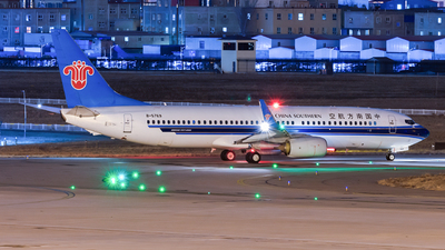 A picture of B5769 - Boeing 73781B - China Southern Airlines - © Lazy Clutch