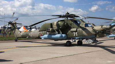 RF-95345 - Mil Mi-28N Havoc - Russia - Air Force