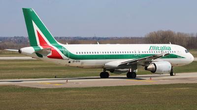 EI-DTG - Airbus A320-216 - Alitalia