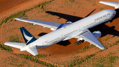 A picture of BHNE - Boeing 777367 - Cathay Pacific - © Yohane