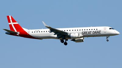 OY-GDC - Embraer 190-200LR - Great Dane Airlines