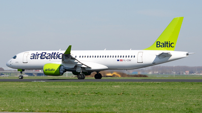 A picture of YLCSN - Airbus A220300 - Air Baltic - © Paul Stam