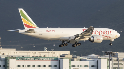 A picture of ETAVT - Boeing 777F - Ethiopian Airlines - © Michael Malone