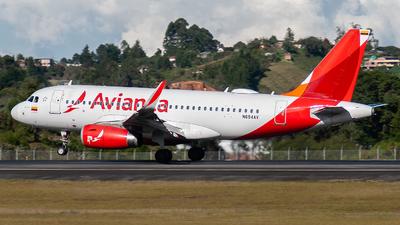 N694AV - Airbus A319-132 - Avianca