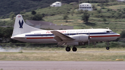 N44829 - Convair CV-440 - American Inter Island