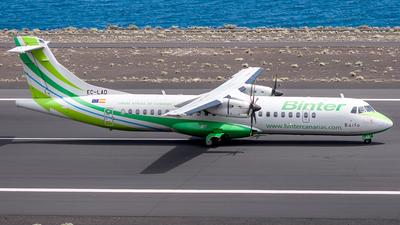 A picture of ECLAD - ATR 72500 - Binter Canarias - © Photography  Jc  la Palma