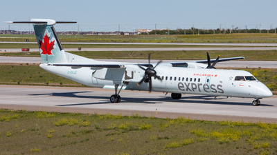 C-GVJZ - Bombardier Dash 8-Q402 - Air Canada Express (Jazz Aviation)