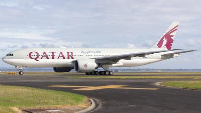 A7-BBG - Boeing 777-2DZLR - Qatar Airways