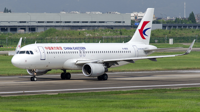 A picture of B8859 - Airbus A320214 - China Eastern Airlines - © StephenLian020216