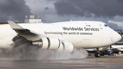 N577UP - Boeing 747-44AF(SCD) - United Parcel Service (UPS)