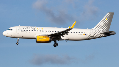 A picture of ECLUO - Airbus A320232 - Vueling - © Airlinergeek