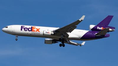 N588FE - McDonnell Douglas MD-11(F) - FedEx