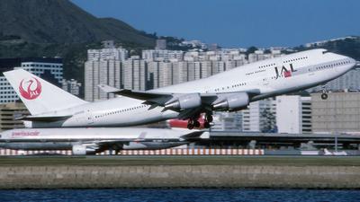 JA8086 - Boeing 747-446 - Japan Airlines (JAL)