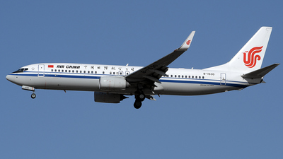 B-1530 - Boeing 737-89L - Air China