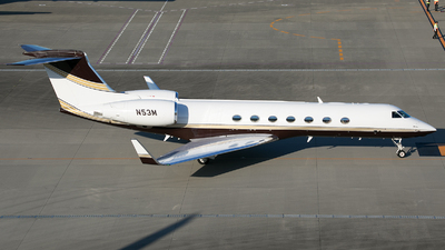 N53M - Gulfstream G550 - Private
