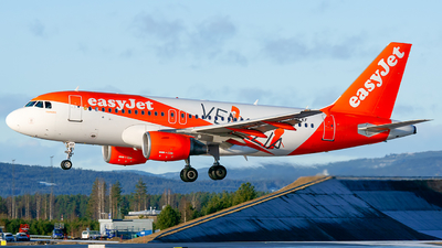 A picture of OELKF - Airbus A319111 - easyJet - © Laszlo Fekete