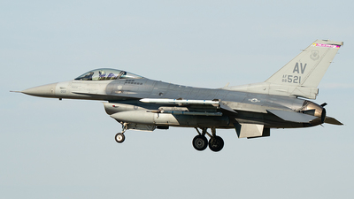 88-0521 - Lockheed Martin F-16CG Fighting Falcon - United States - US Air Force (USAF)