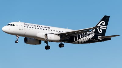 A picture of ZKOJS - Airbus A320232 - Air New Zealand - © DrowsySpotting