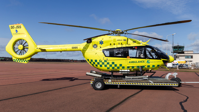 A picture of SEJSS - Airbus Helicopters H145 - Babcock Scandinavian AirAmbulance - © Christian Ström - espoospotter