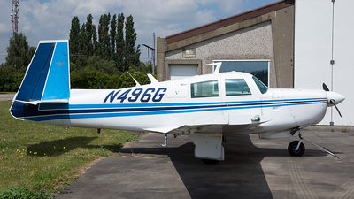 A picture of N496G - Mooney M20E - [1209] - © Thomas Desmet Photography