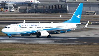 A picture of B5595 - Boeing 73786N - Xiamen Air - © yuanye