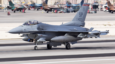 91-0407 - General Dynamics F-16C Fighting Falcon - United States - US Air Force (USAF)