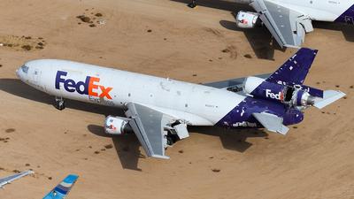N395FE - McDonnell Douglas MD-10-10(F) - FedEx