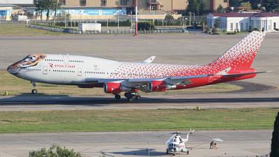 A picture of EIXLD - Boeing 747446 - Rossiya - © BizavMen