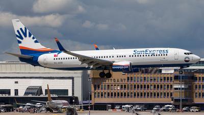 TC-SOD - Boeing 737-8HC - SunExpress
