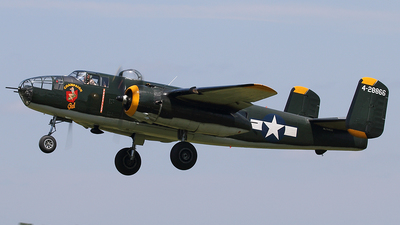 N744CG - North American B-25J Mitchell - Private