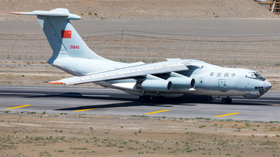 20640 - Ilyushin IL-76TD - China - Air Force