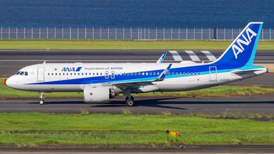 JA220A - Airbus A320-271N - All Nippon Airways (ANA)