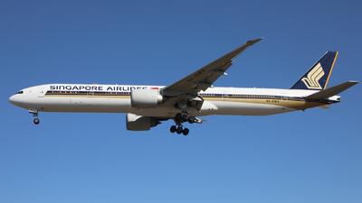9V-SWV - Boeing 777-312ER - Singapore Airlines
