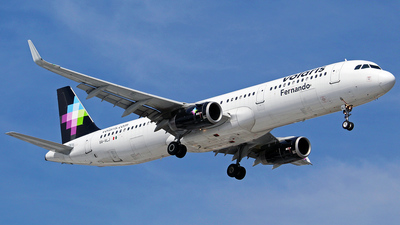 A picture of XAVLJ - Airbus A321231 - Volaris - © Tony Reyes @PasionTransporteMX