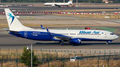 YR-BMQ - Boeing 737-8FH - Blue Air