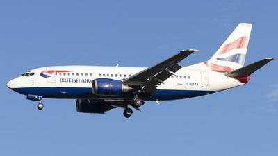 G-GFFA - Boeing 737-59D - British Airways
