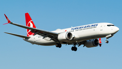 TC-LCP - Boeing 737-8 MAX - Turkish Airlines