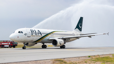 AP-BLB - Airbus A320-214 - Pakistan International Airlines (PIA)