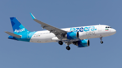 9K-CBA - Airbus A320-251N - Jazeera Airways