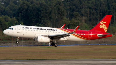 B-1602 - Airbus A320-232 - Shenzhen Airlines