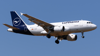 A picture of DAILW - Airbus A319114 - Lufthansa - © George Chaidaris