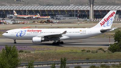 EC-JQQ - Airbus A330-202 - Air Europa