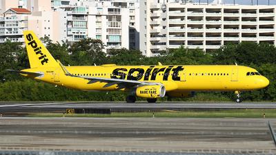 N660NK - Airbus A321-231 - Spirit Airlines
