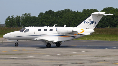 F-HDPY - Cessna 510 Citation Mustang - Private