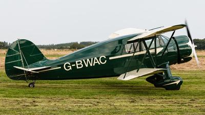 G-BWAC - Waco YKS-7 - Private