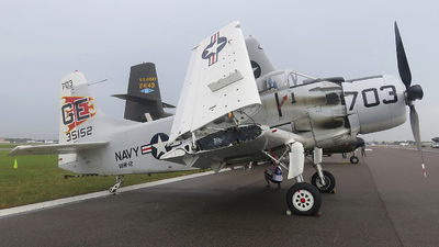 N65164 - Douglas EA-1F Skyraider - Cavanaugh Flight Museum